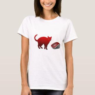 T-shirt das senhoras do gato e do rato