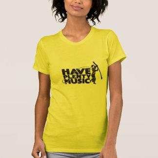T-shirt das senhoras do narcótico de Mahangu