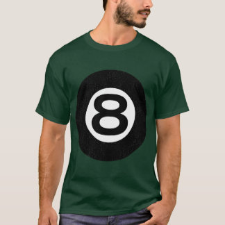 T-shirt de 8 bolas camiseta