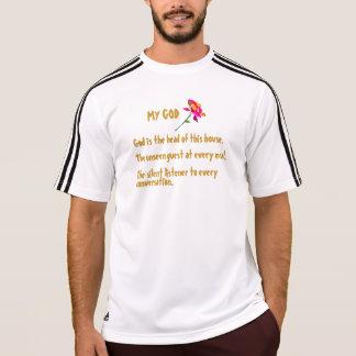 T-shirt de Adidas ClimaLite® dos homens Camiseta