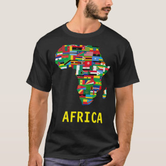 T-SHIRT DE ÁFRICA CAMISETA