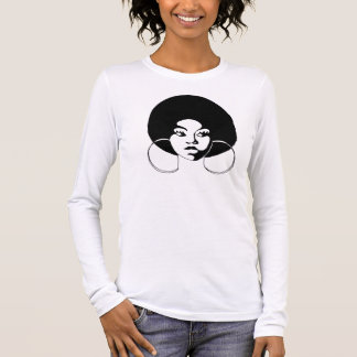 T-shirt de Afroed Sistah Camiseta Manga Longa