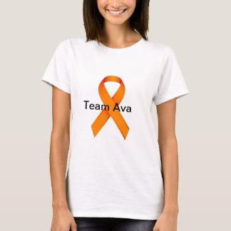 T-shirt de Ava da equipe das senhoras Camiseta