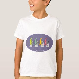 T-shirt de Beatles de 4 lagartos Camiseta