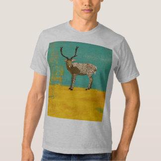 T-shirt de bronze da cerceta do fanfarrão