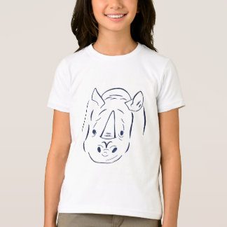 T-shirt de carregamento da campainha dos miúdos do camiseta
