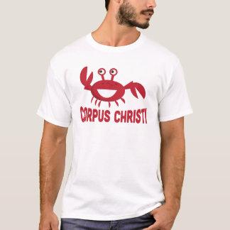 T-shirt de Corpus Christi - caranguejo vermelho Camiseta