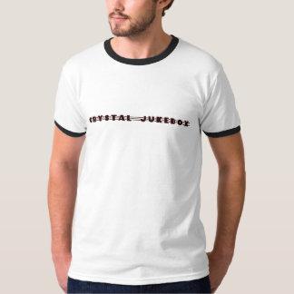 T-shirt de cristal do jukebox camiseta