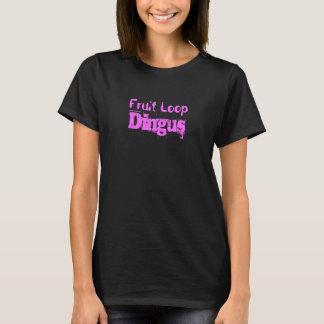 T-shirt de Dingus do laço da fruta Camiseta