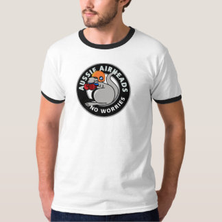 T-shirt de Downunder dos Airheads de BMW (Airheads Camiseta