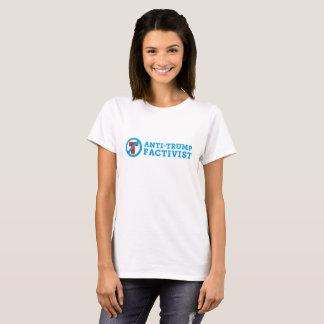 T-shirt de FACTivist do Anti-Trunfo (camisa Camiseta