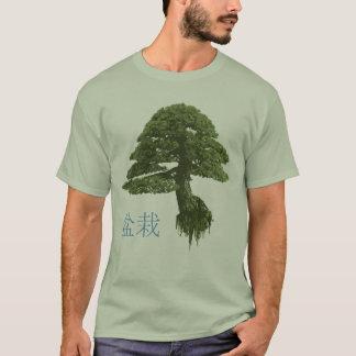 T-shirt de flutuação da árvore dos bonsais dos camiseta