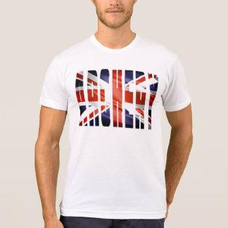 T-shirt de Grâ Bretanha Union Jack do tiro ao arco Camiseta