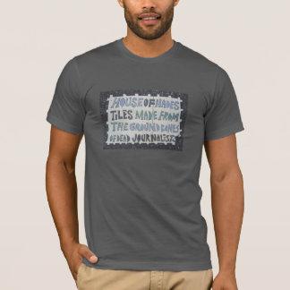 """T-shirt de Hades do azulejo de Toynbee """"casa"""" Camiseta"""
