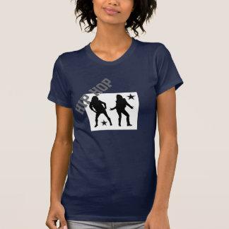 T-shirt de Hip Hop das mulheres
