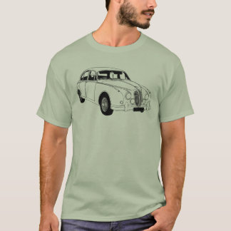 T-shirt de Jaguar Mk2 Camiseta