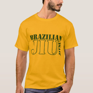 T-shirt de Jiu Jitsu do brasileiro Camiseta