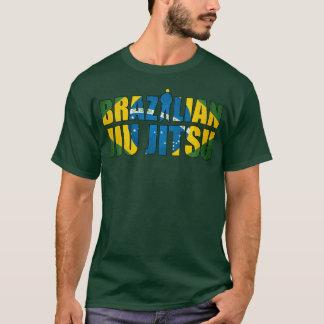 T-shirt de Jiu Jitsu do brasileiro em Forest Green Camiseta
