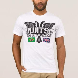 T-shirt de Jiu Jitsu Reino Unido do brasileiro Camiseta