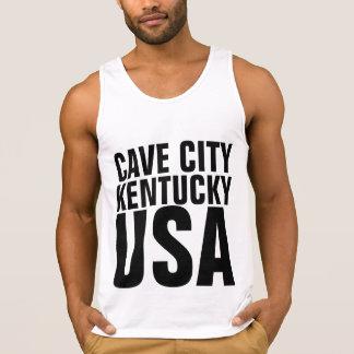 T-shirt de KENTUCKY EUA da CIDADE da CAVERNA