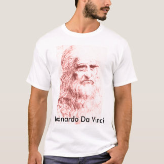 T-shirt de Leonardo da Vinci Camiseta