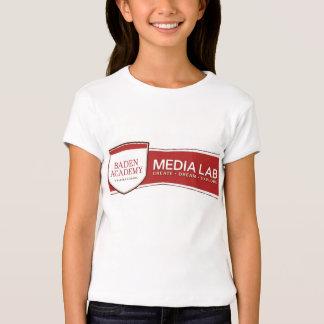 T-shirt de Media Lab da academia de Baden Camiseta