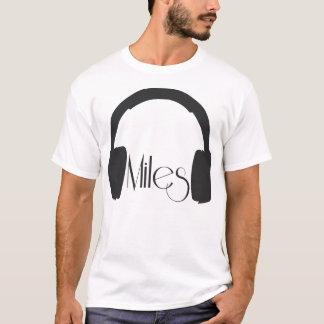 T-shirt de Miles Davis Camiseta