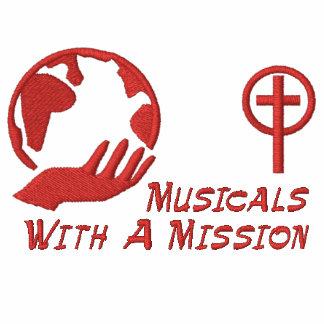 T-shirt de MWAM - rotulação vermelha