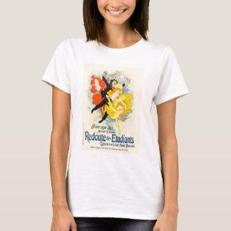 T-shirt de Nouveau da arte de Jules Cheret Camiseta