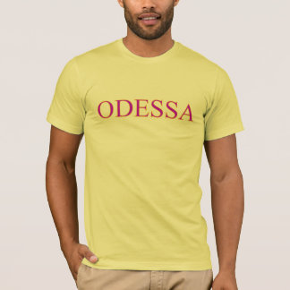 T-shirt de Odessa Camiseta