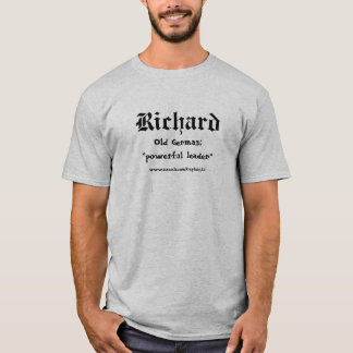 T-shirt de Richard Camiseta