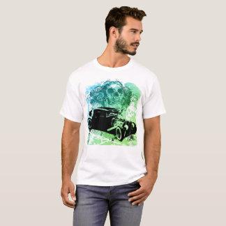 T-shirt de Rod do crânio Camiseta