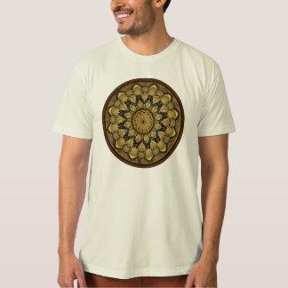 T-shirt de Shell da terra da mandala