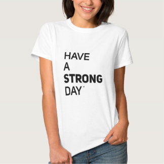 T-shirt de StrongDay (mulheres)