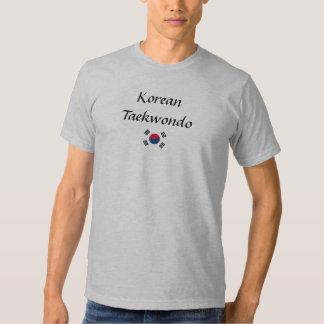 T-shirt de Taekwondo do coreano
