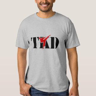 "T-shirt de Taekwondo ""TKD"""