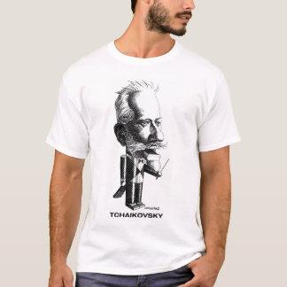 T-shirt de Tchaikovsky Camiseta