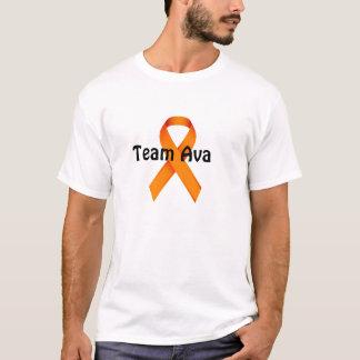 T-shirt de Tean Ava dos homens Camiseta