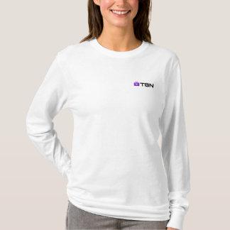 T-shirt de TGN, mulheres - assinatura Camiseta