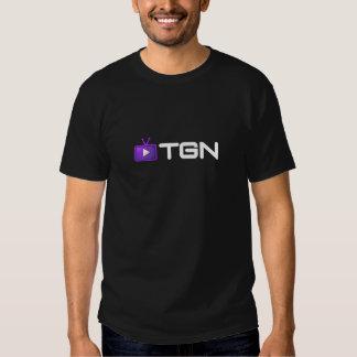 T-shirt de TGN - no preto lustroso