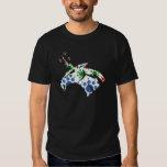 T-shirt de Thundercorn do teste padrão de ponto da