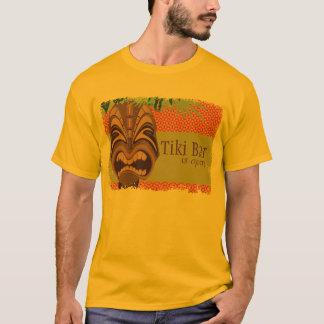 T-shirt de Tiki Luau da ilha Camiseta