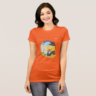 T-shirt de VIPKID Grâ Bretanha (alaranjado) Camiseta