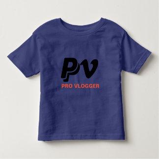 T-shirt de Vlogger dos miúdos pro Camiseta Infantil
