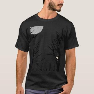T-shirt delgado da floresta camiseta