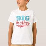 T-shirt desportivo do big brother camiseta