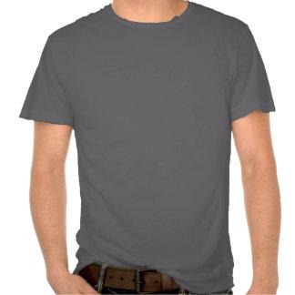 T-shirt destruído ocidental do cobra lustroso do M