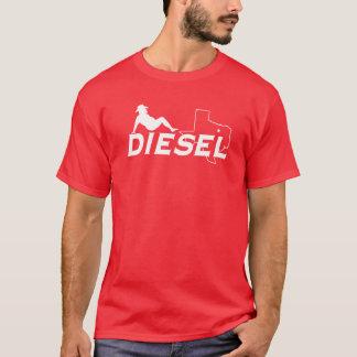 T-shirt diesel do homem do Mudflap do softball de Camiseta