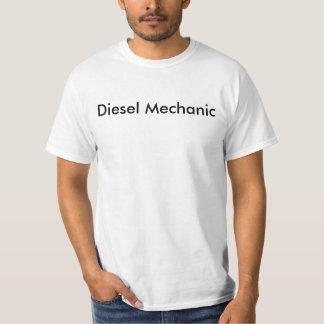 T-shirt diesel do mecânico