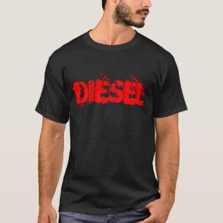 T-shirt diesel do poder camiseta